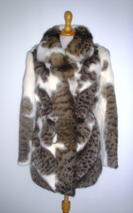 Pravo krzno bunda bundica parka jakna