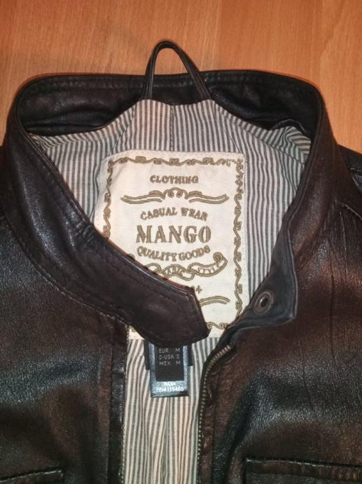 Prodajem kožnu jaknu Mango
