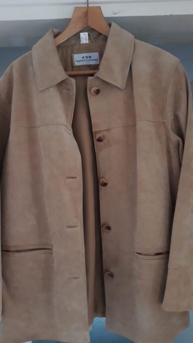 Ženska jakna brušena koža nova