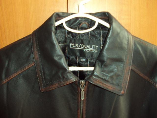 Ženska kožna crna jakna