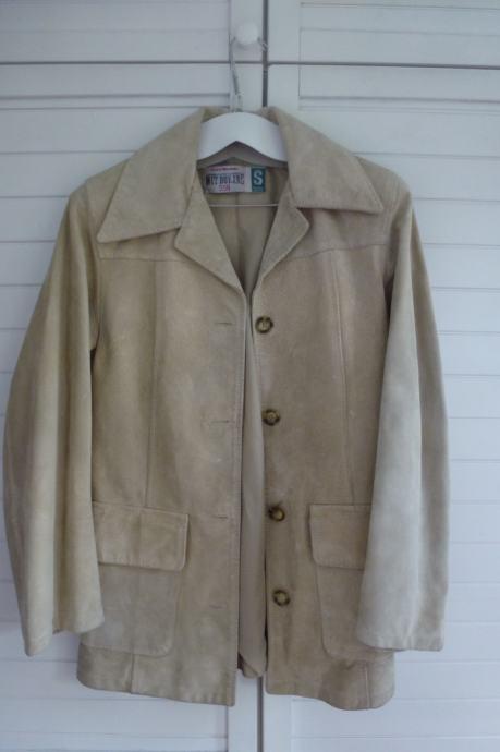 Ženska kožna jakna vel. 36