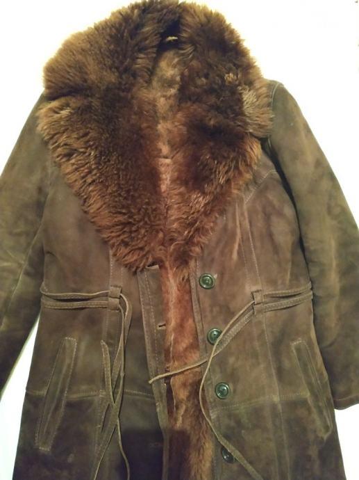 Ženski kaput (ovčja koža i krzno)