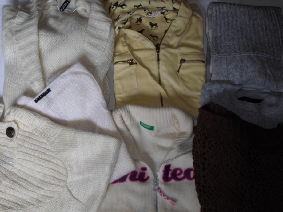 Lot markiranih zimskih majica vel.M