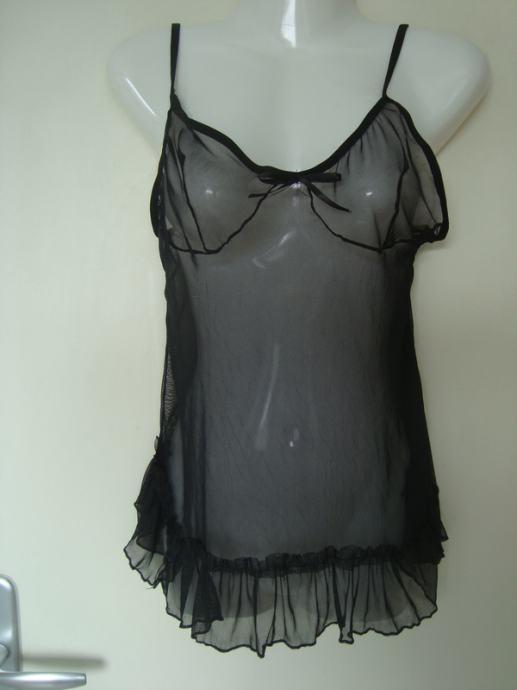 Crni top lingerie vl.S / RASPRODAJA
