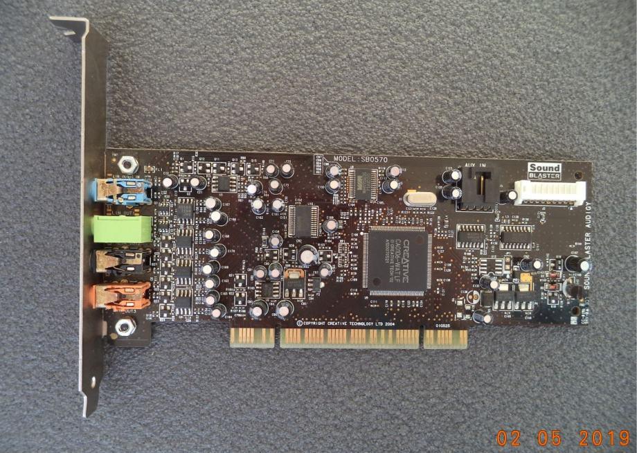 Creative Labs Sound Blaster Audigy SE SB0570 7.1ch PCI zvučna kartica