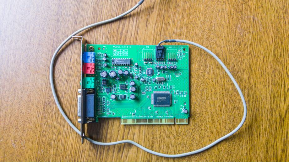 Creative Labs Sound Blaster CT4810 PCI Sound Card zvucna kartica