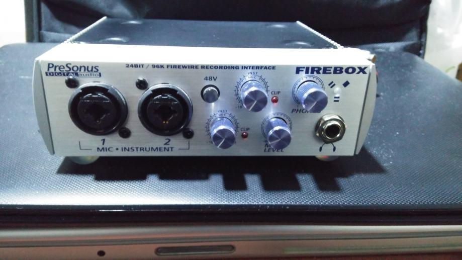 Presonus Firebox - Zvučna kartica