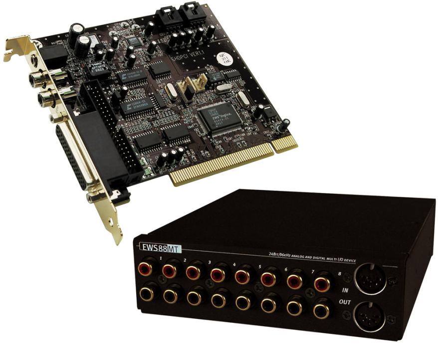 Terratec EWS88MT  24 bit and 96 kHz Soundcard  PRILIKA!!!
