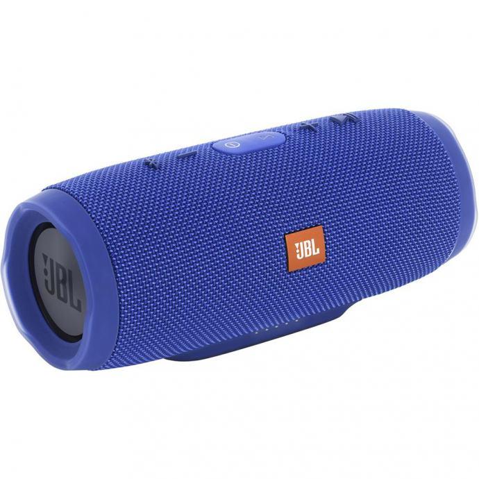 JBL Charge 3 (blue) - Portable Bluetooth Speaker