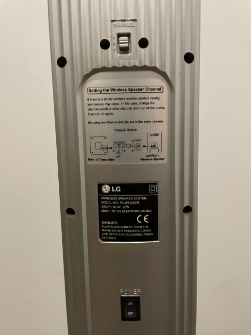 LG wireless/bezžićni zvučnici