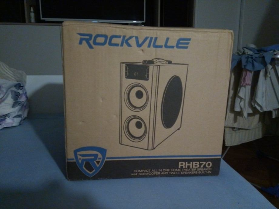 Rockville RHB70 compact home theatar speaker