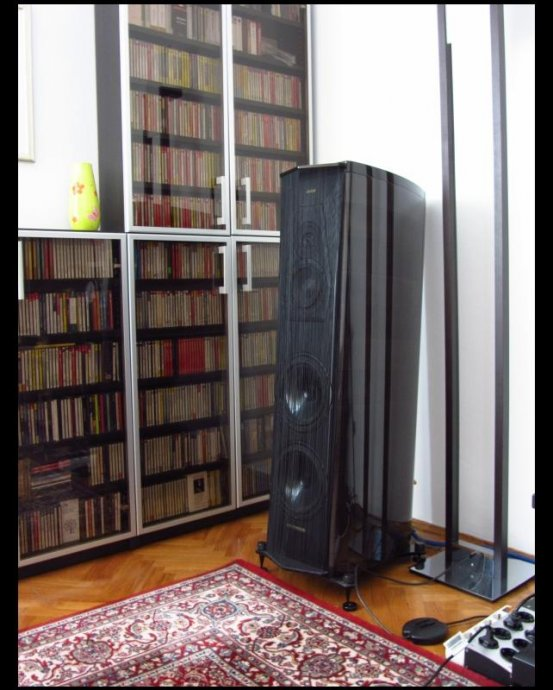 Sonus faber Amati Anniversario Graphite Finish