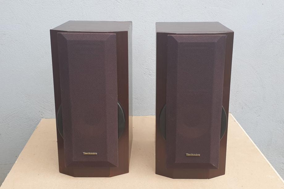 TECHNICS SB-HD550 BI-WIRE HI FI SYSTEM BOOKSHELF ZVUČNICI
