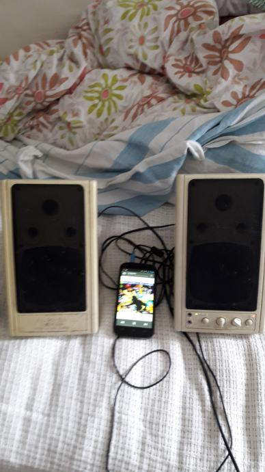 Zvučnici MS203-3D 2X30 W Stereo Speaker System 3D Multi-Media