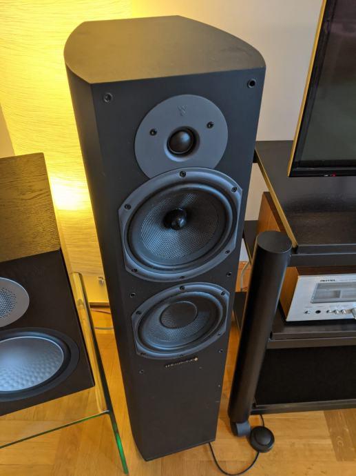 Zvučnici Wharfedale Diamond 9.5, crni