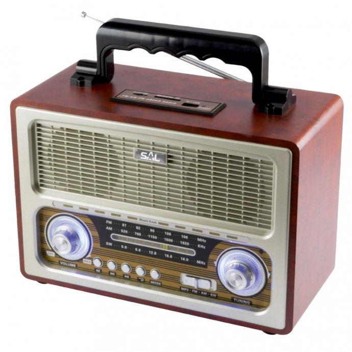 Zvučnik bežični, Bluetooth, 4in1, !! RETRO DIZAJN !!